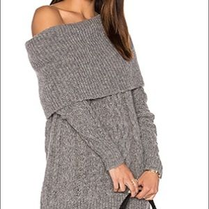 Kendall + Kylie grey sweater